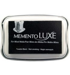 Memento Luxe Stempelkissen Tuxedo Black