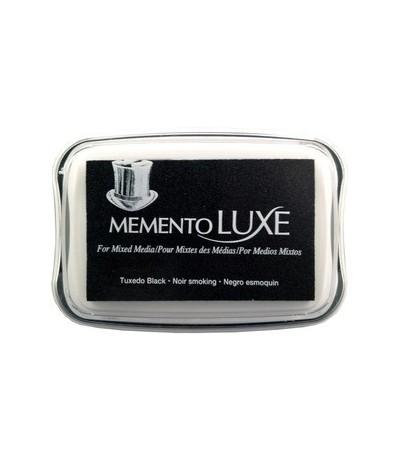 Tuxedo Black Memento Luxe Stempelkissen - Tsukineko