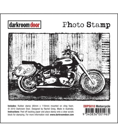 Motorcycle Cling Stempel - Darkroom Door