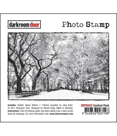 Central Park Cling Stempel - Darkroom Door