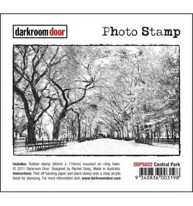 Central Park Cling Stempel - Darkroom Door