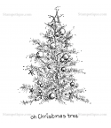 Oh Christmas Tree - Stampotique
