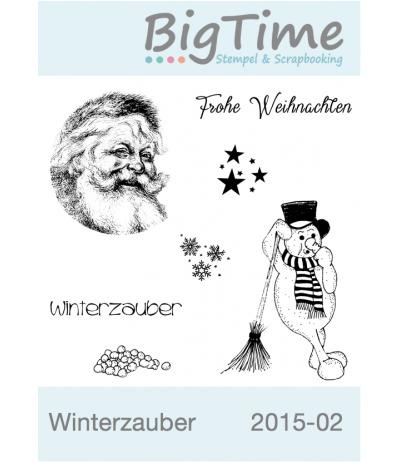 Winterzauber Cling Stempelset