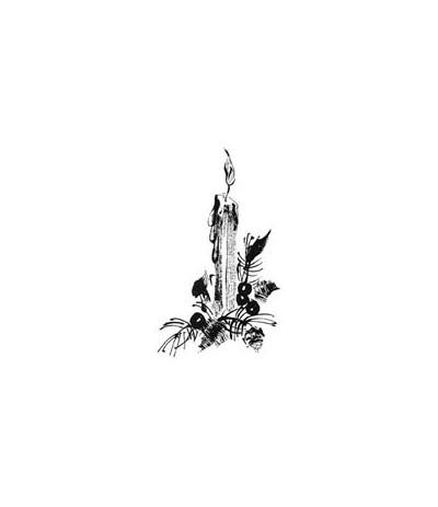 Kerze Holzstempel - Penny Black