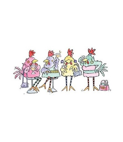 Party Chicks Stempel