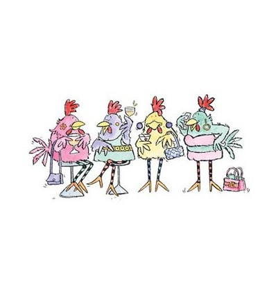 Party Chicks Stempel