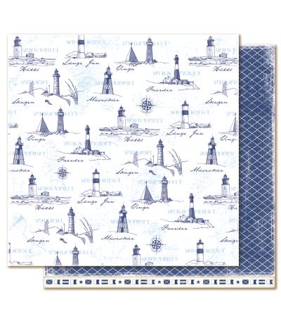 Navigate - Life by the Sea Scrapbooking Papier - Maja Design
