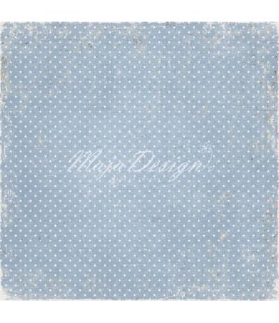 Welcome little one - Vintage Baby Scrapbooking Papier - Maja Design