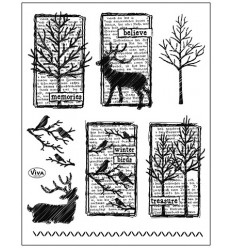 Winterimpressionen Clear Stamps - Viva Decor