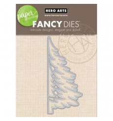 Paper Layering Tree Stanzschablone - Hero Arts