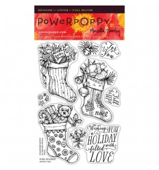 Fully Stocked Clear Stamps - Power Poppy