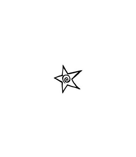 Kringel-Stern Stempel