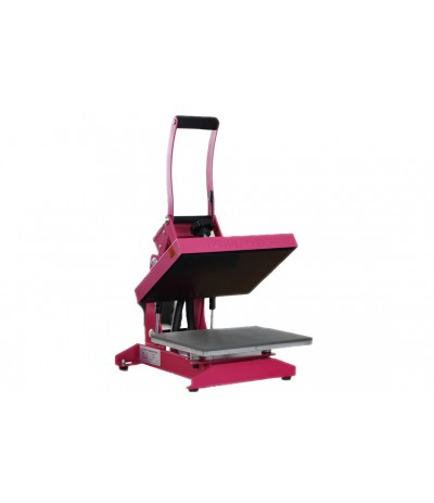 HappyPress 3 Pink - Transferpresse für Flock + Flex Folien