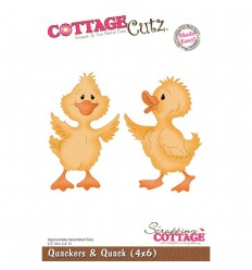 Stanzschablone Quakers & Quack - Cottage Cut