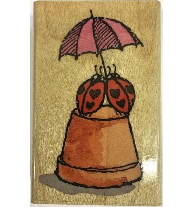 Love Bug Stempel - Penny Black