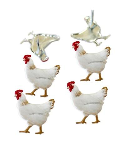 Brads Hühner - Eyelet Outlet