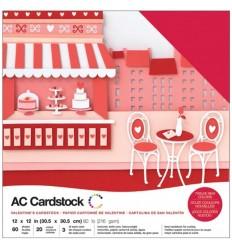Scrapbooking Papier Valentine - American Crafts