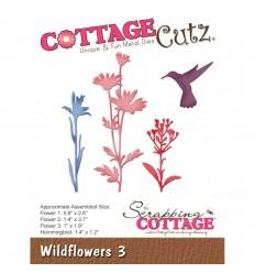 Stanzschablone Wildflowers 3 - Cottage Cutz