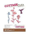 Stanzschablone Wildflowers 3 - Cottage Cutz
