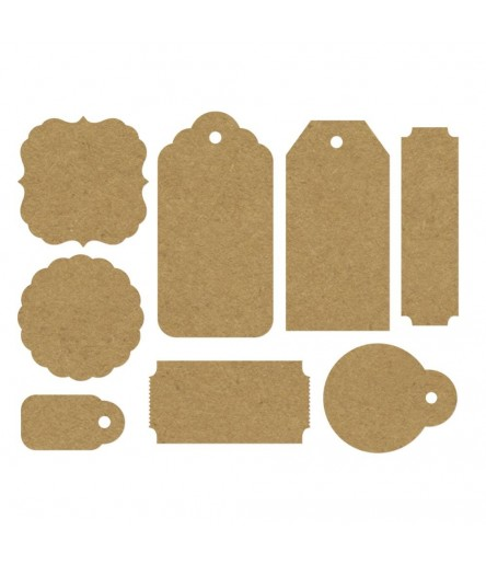 Tags & Shapes in Kraft - KaiserCraft