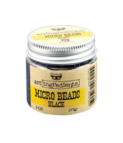 Micro Beads Black - Art Ingredients