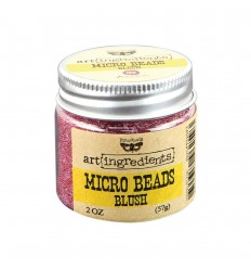 Art ingredients Micro Beads Blush