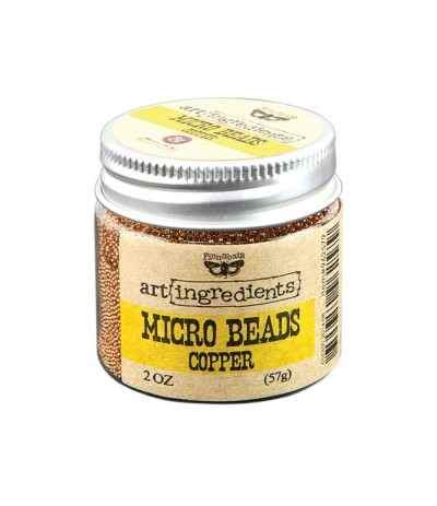 Micro Beads Copper - Art Ingredients