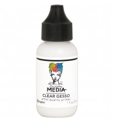Gesso Clear, in Flasche - Dina Wakley