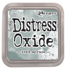 Distress Oxide Encreur Iced Spruce - Tim Holtz