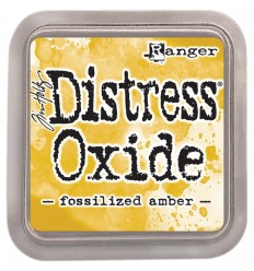 Distress Oxide Stamp  Pad Fossilized Amber - Tim Holtz