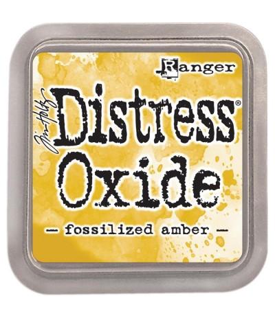 Distress Oxide Encreur Fossilized Amber - Tim Holtz