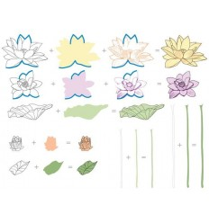 Clear Stamp Set Lotus - Altenew