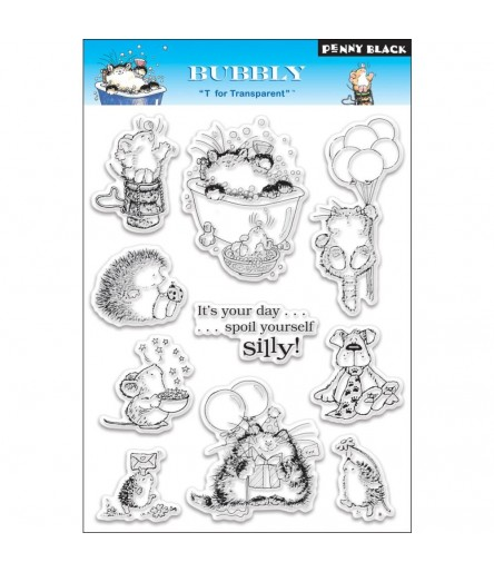 Bubbly Clear Stamps - Penny Black