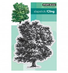 Stately Cling Stempel - Penny Black