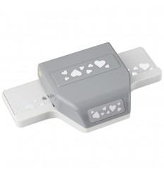 Bordürenstanzer Heart Confeffi - EK Tools