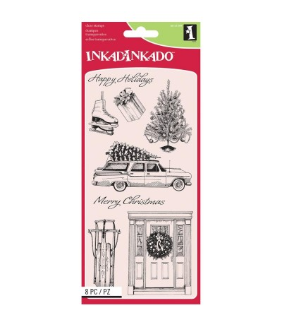 Clear Stamps Home for Christmas - Inkadinkado