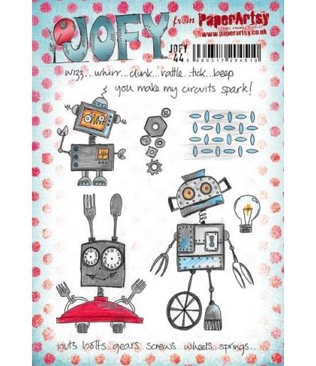 Cling Stempel Set Roboter - Jofy