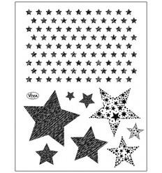 Clear Stempel Sterne - Viva Decor