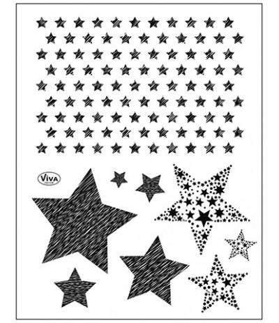 Clear Stamps Sterne - Viva Decor