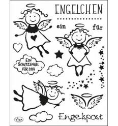 Clear Stempel Engelchen - Viva Decor
