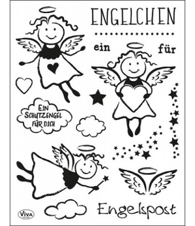 Clear Stamps Engelchen - Viva Decor