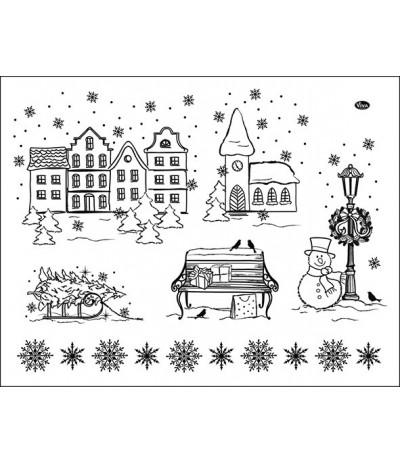 Clear Stempel Weihnachtsstadt - Viva Decor