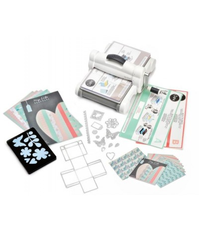 Sizzix Big Shot Plus Starter Kit White & Gray DIN A4