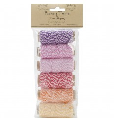 Bakers Twine Mini-Set Gelb-Lila - Hemptique
