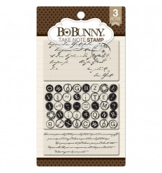 Clear Stamps Take Note - Bo Bunny