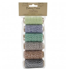 Bakers Twine Mini-Set Grün-Braun - Hemptique