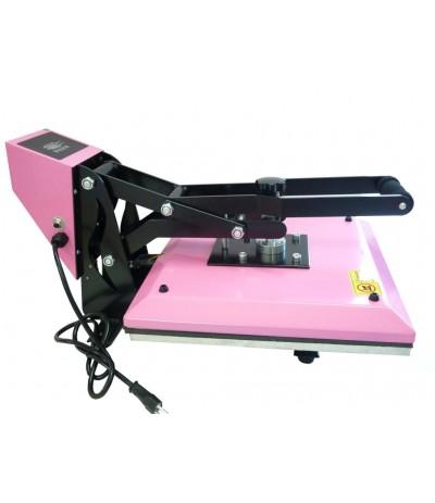 Pink presse a chaud 38 cm x 38 cm