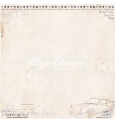Scrapbooking Papier Denim & Friends - Drivers License - Maya Design