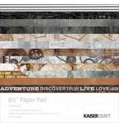 """Scrapbooking Papier Factory 42, 6.5"""" x 6.5"""" - Kaiser Craft"""