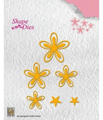 Stanzschablonen Flower 3 - Nellie's Choice